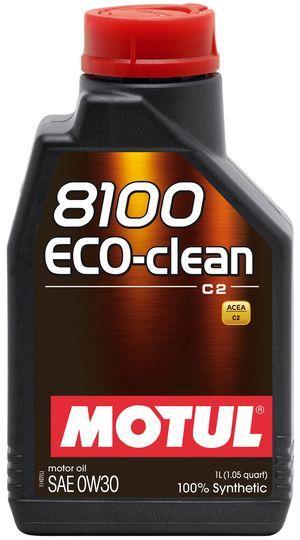 Масло моторное 100% синтетическое д/авто MOTUL ECO-CLEAN SAE 0W30 (1L)