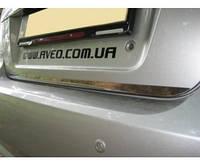 Хром накладка нижней кромки багажника Chevrolet Lacetti SD (шевроле лачетти), нерж.