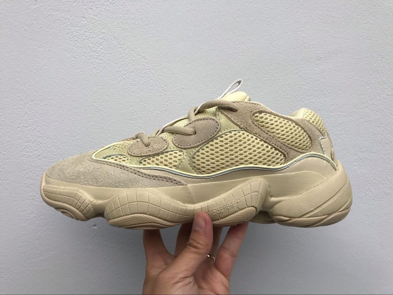 newest cd78c 6193b Кроссовки адидас изи Adidas Yeezy desert Mud Rat 500 бежевые распродажа -  Bigl.ua