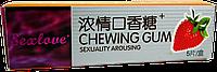 Возбуждающая жвачка для женщин Sex Love Chewing Gum