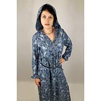 Платье летнее  из хлопка (46 размер) - пляжная одежда для детей, туники, панамы, рубашки