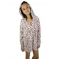 """Туника """"Красные бантики"""" (140-152) - пляжная одежда для детей, туники, панамы, рубашки"""