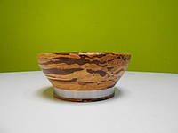 Ваза для фруктов 15 см, Crushed Bamboo