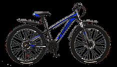 """Велосипед спортивний  Cross Leader синій  26""""дюйм 13"""" 15"""" 17"""" алюмінієва рама  (26CJPr19-45) 2019"""