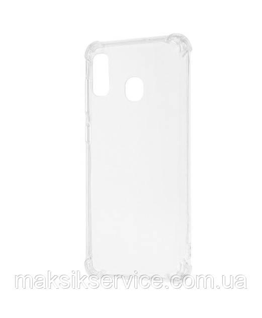 Чехол силикон противоударный Samsung A20 2019 A205F