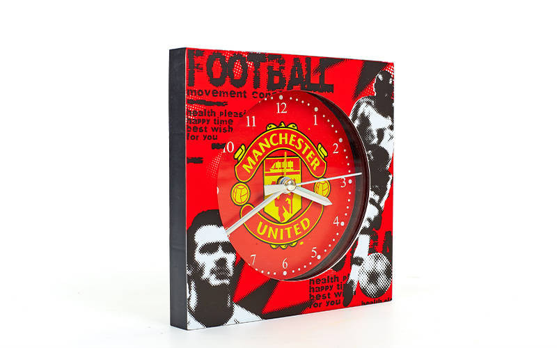 Часы настенные Клубные MANCHESTER FB-1963-MAN