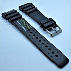 Ремінець для годинника з каучуку CONDOR 285S.24 (24 мм) ремінець на годинник