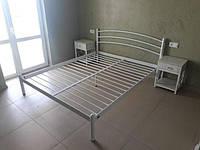 Кровать Маранта белый глянец TENERO