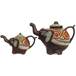 Статуэтка керамическая Чайнослон