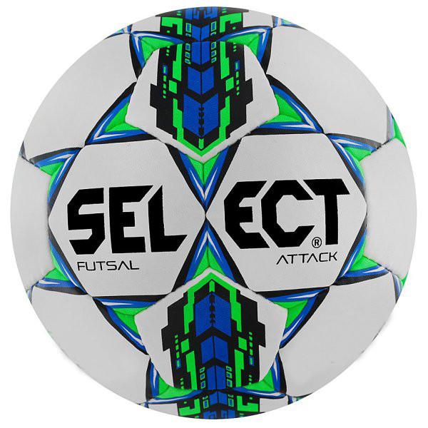 Мяч для футзала Select ATTACK (белый) №4 PU FB-4766-W