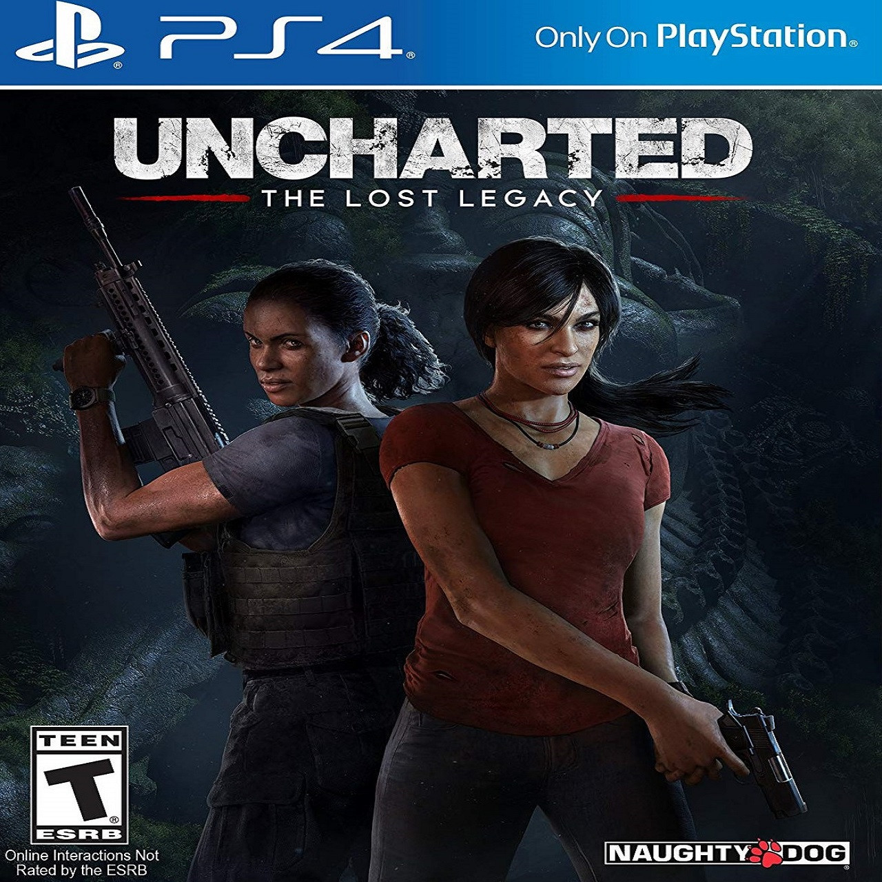 Uncharted: The Lost Legacy RUS PS4