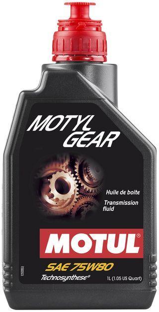 Масло трансмиссионное Technosynthese MOTYLGEAR SAE 75W80 (1L)