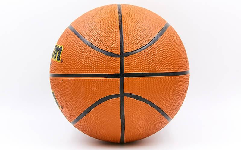 Мяч баскетбольный резиновый №5 WILSON BA-8091