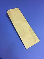 Бумажный пакет под бутылку 320х100х40, бурый крафт, 40г/м2, 100шт/уп., 3210