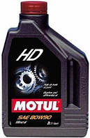 Масло трансмиссионное минеральное MOTUL HD SAE 80W90 (2L)