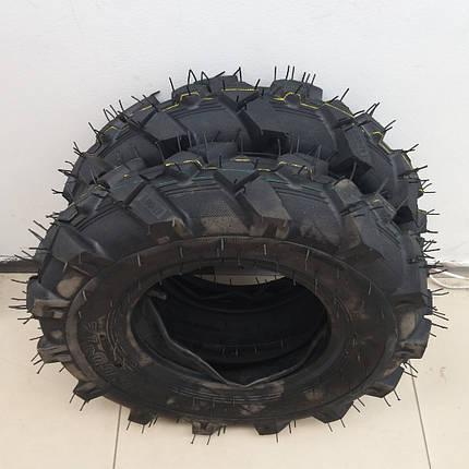 Шина 6.00-12 на мотоблок трактор с камерой   усиленная 405кг, фото 2