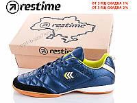 Футбольная обувь мужская Restime DMO19118 navy-white-black (41-45) - купить оптом на 7км в одессе