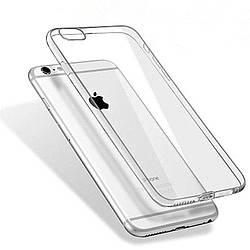 Чехол для Iphone 7+ plus/Iphone 8 plus Силиконовый прозрачный
