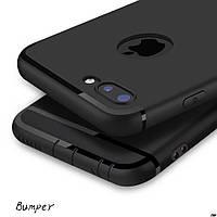 Силиконовый чехол для Iphone 7 plus/8 plus ультратонкий черный мужской