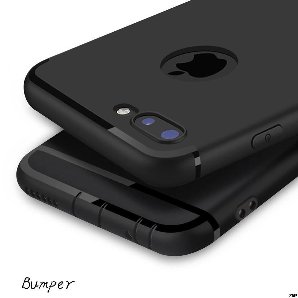 Силиконовый чехол для Iphone 7 plus/Iphone 8 plus ультратонкий черный
