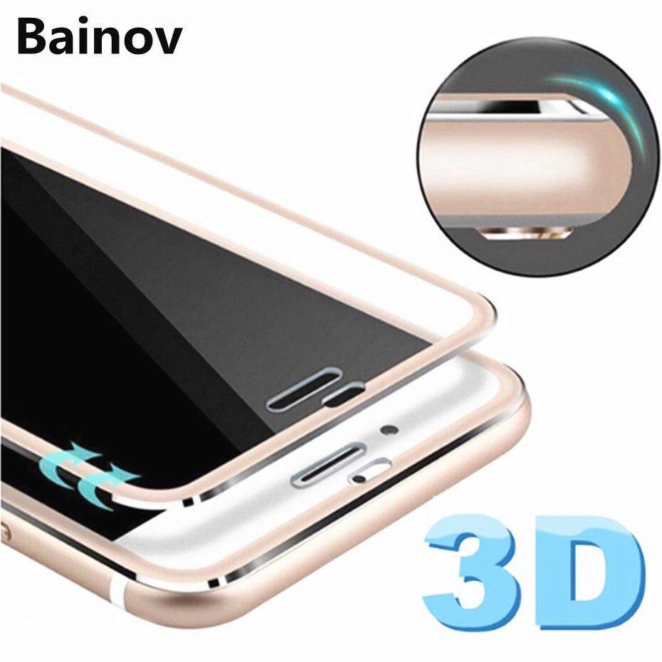 3D  защитное стекло для Iphone 7+ plus/8+ plus Rose Gold