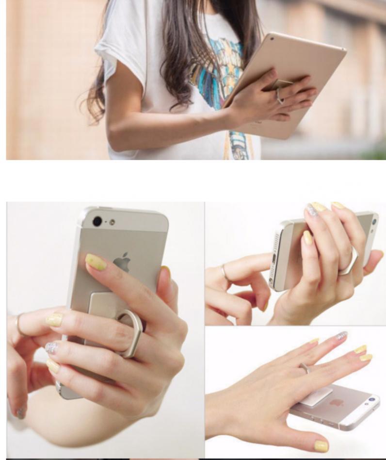 Кольцо-Подставка Iring для телефона+ подарок gold