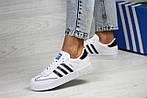 Женские кроссовки Adidas Samba (белые), фото 2