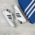 Женские кроссовки Adidas Samba (белые), фото 4
