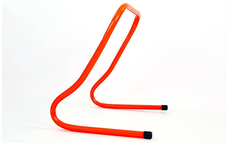 Барьер беговой (1шт) (пластик, р-р 50x46x30см, оранжевый)