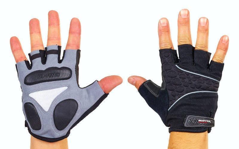 Вело-мото перчатки текстильные SCOYCO