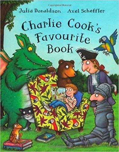 Charlie Cook's Favourite Book by Julia Donaldson and Axel Scheffler / Джулія Дональдсон і Аксель Шеффлер.