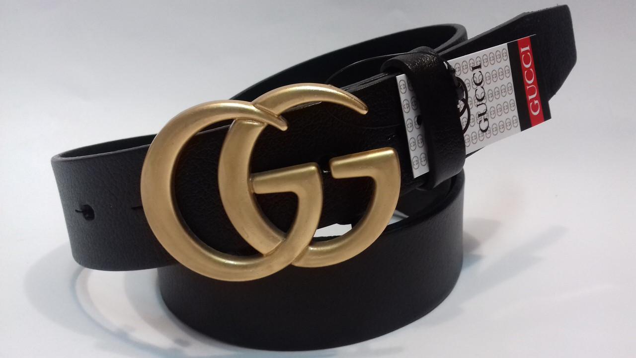 Ремень Gucci кожаный (реплика Гучи)