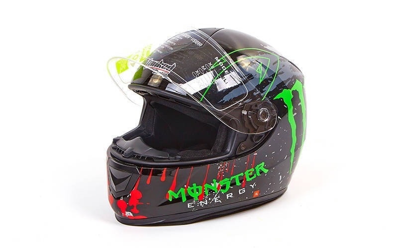 Мотошлем интеграл (full face) со съемным утеплителем Tanked Racing MONSTER