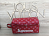 Женская барсетка в стиле Louis Vuitton LV Supreme , фото 3