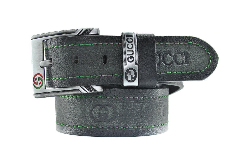 Стильный брендовый Ремень Gucci  из натуральной кожи 0487 (реплика Гучи)