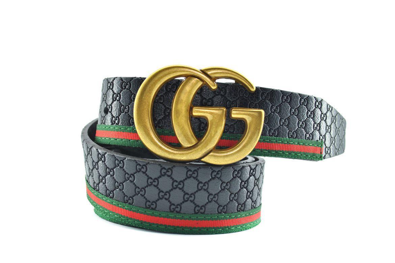 Ремень пояс Gucci из натуральной кожи 0397 (реплика Гучи)
