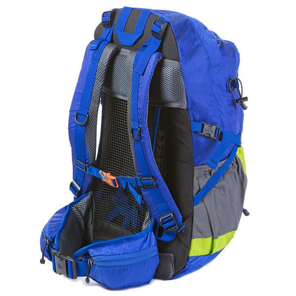 Голубой туристический рюкзак N.F. Electron 55L