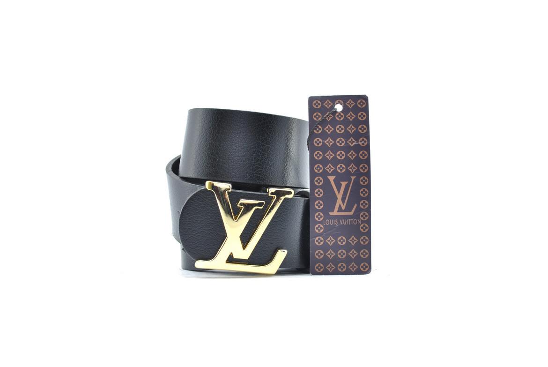 Ремень Louis Vuitton из натуральной кожи 0224 (реплика луи витон)