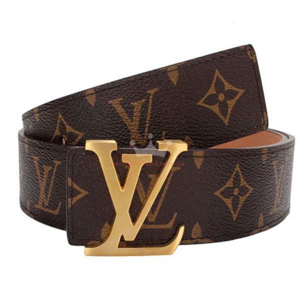 Ремень пояс Louis Vuitton Initials  (реплика луи витон)
