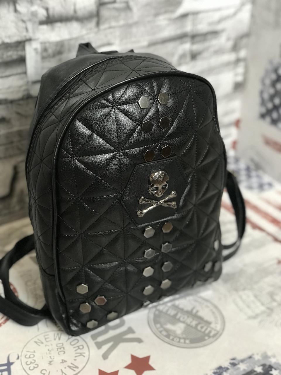 Рюкзак Philipp Plein (реплика Плеин) black