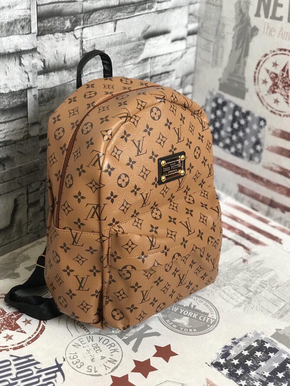 Рюкзак женский портфель  ручная кладь Louis Vuitton  (реплика Луи Витон) LV Vintage