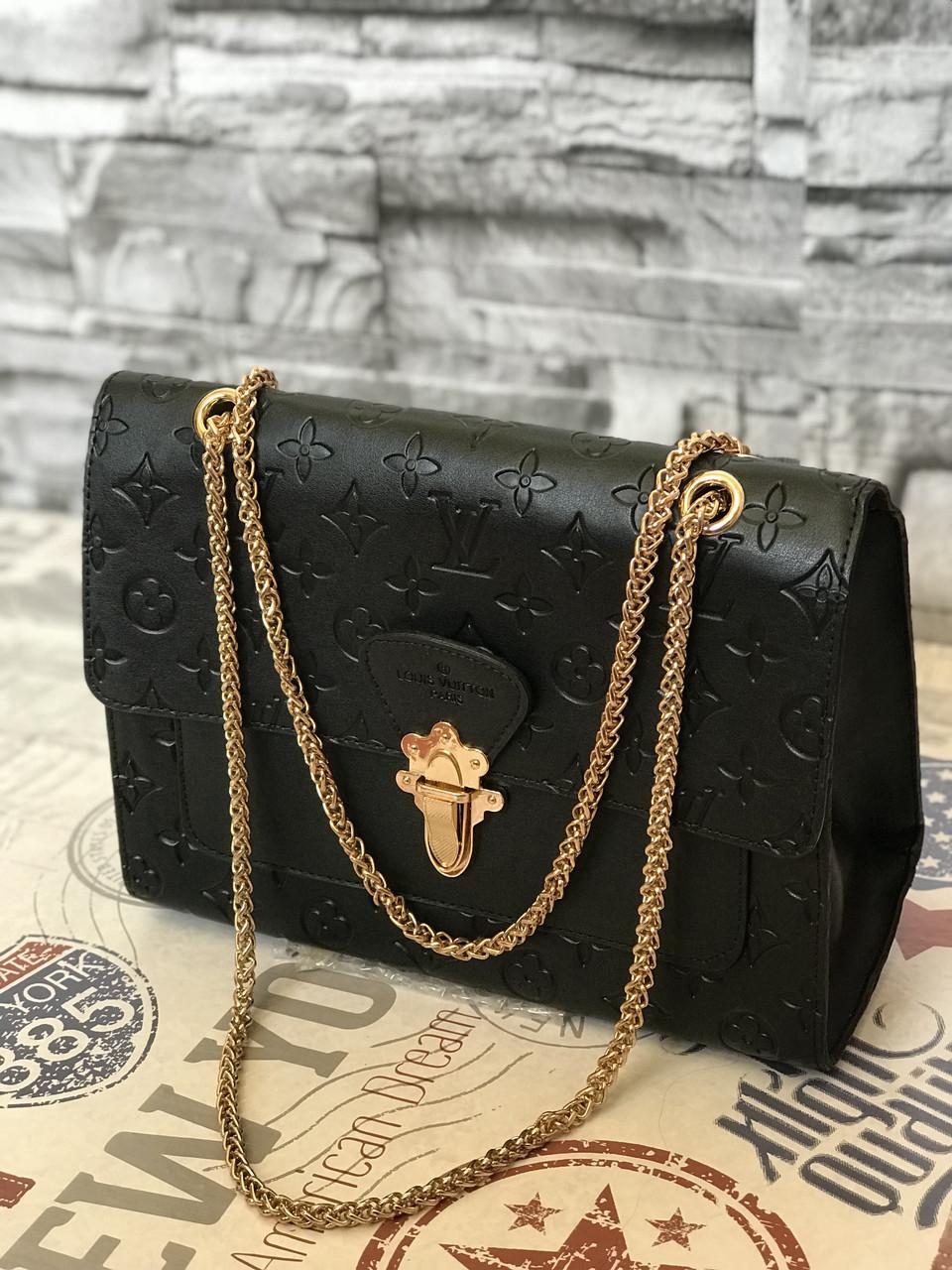 Сумка Louis Vuitton LV (реплика луи витон) black