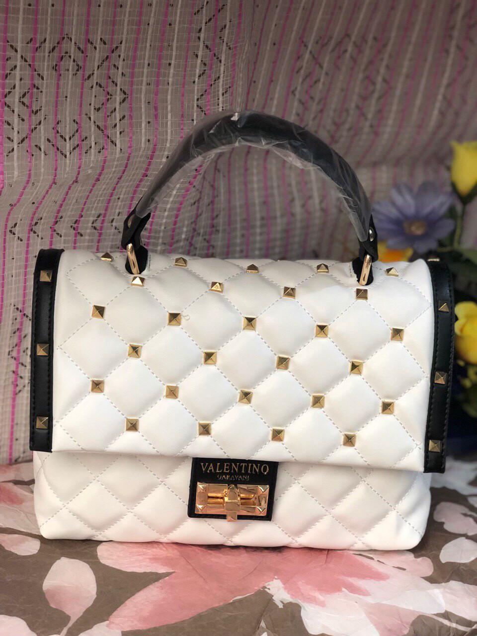 Сумка женская Valentino (реплика люкс) white