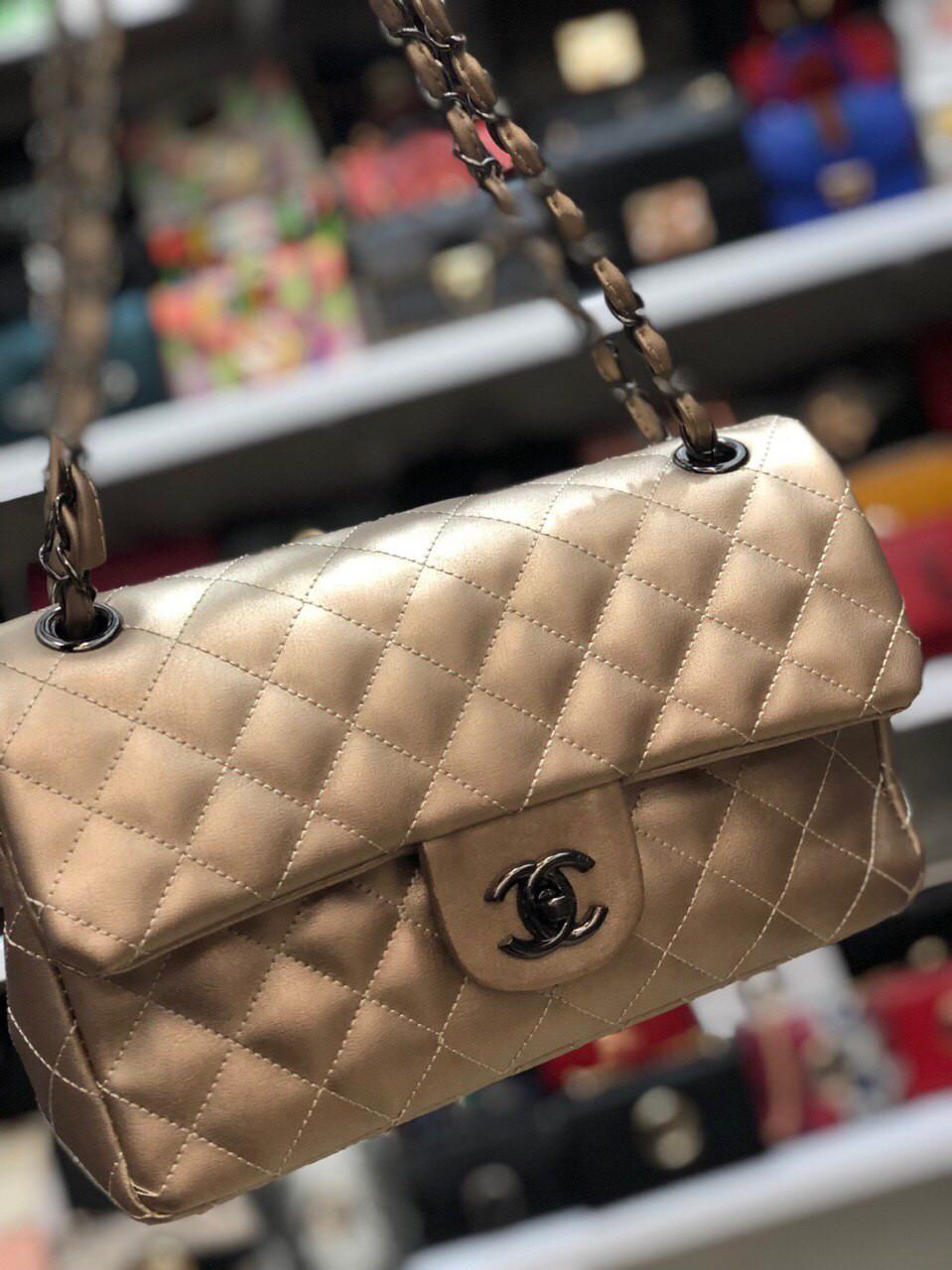 Сумка женская Chanel Шанель реплика саквояж
