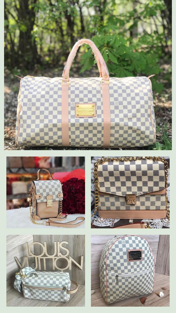 Комплект подарочный сумка ремень Louis Vuitton реплика