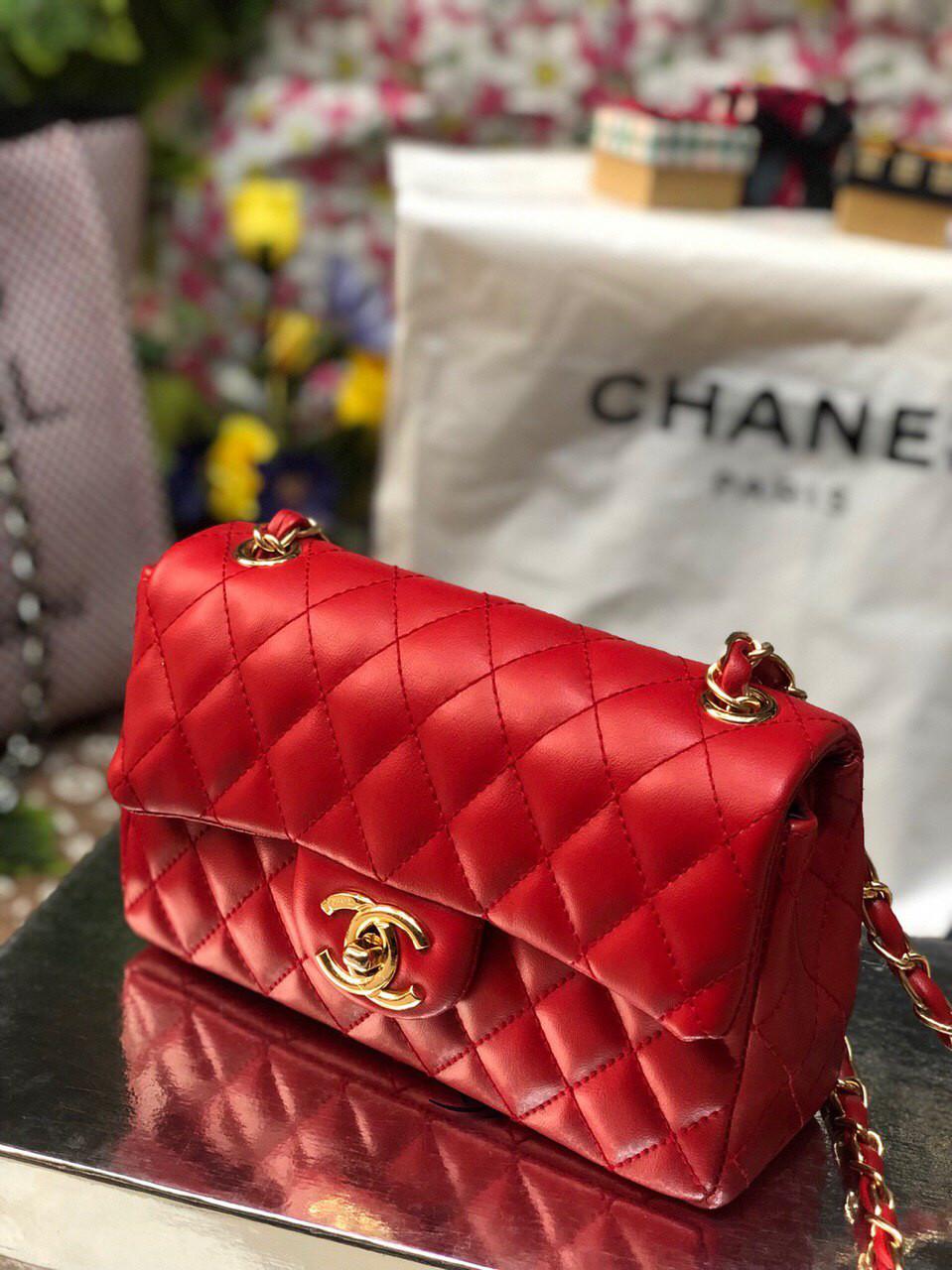 Сумка женская Chanel Шанель реплика red