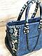 Сумка Stella McCartney mini реплика (Стелла Маккартни) blue, фото 5
