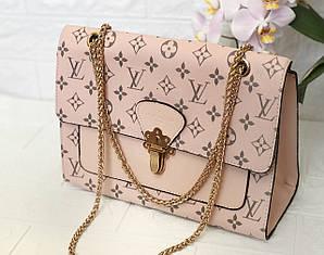 Клатч Louis Vuitton LV (реплика луи витон) pink