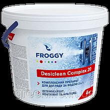 DESICLEAN COMPLEX 20, хлор тривалий 3 в1 в таблетках 20 гр , Froggy , Фроггі, 4 кг