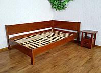 """Угловая полуторная кровать для спальни """"Шанталь"""" от производителя"""